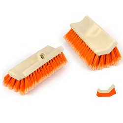 ACID RESISTANT BRUSH HEAD – LEYCO BETONAC ORANGE Bi-LEVEL Brush Head